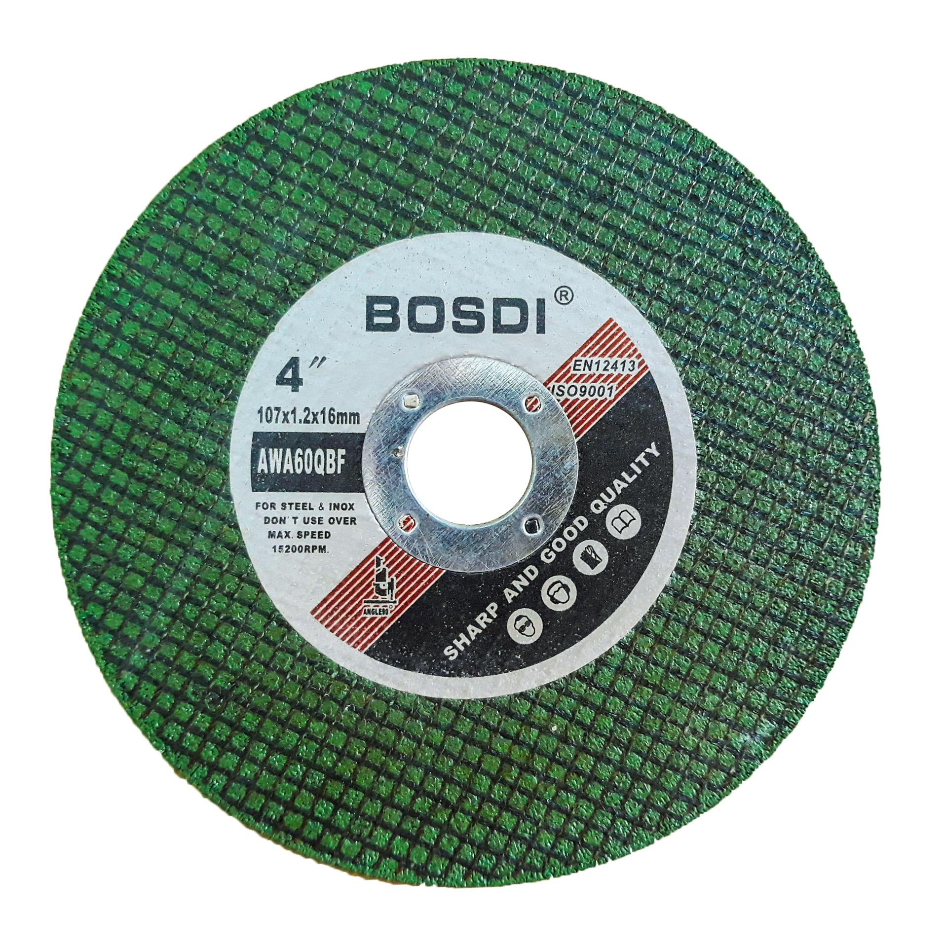Đá cắt xanh BOSDI 107x1.2x16