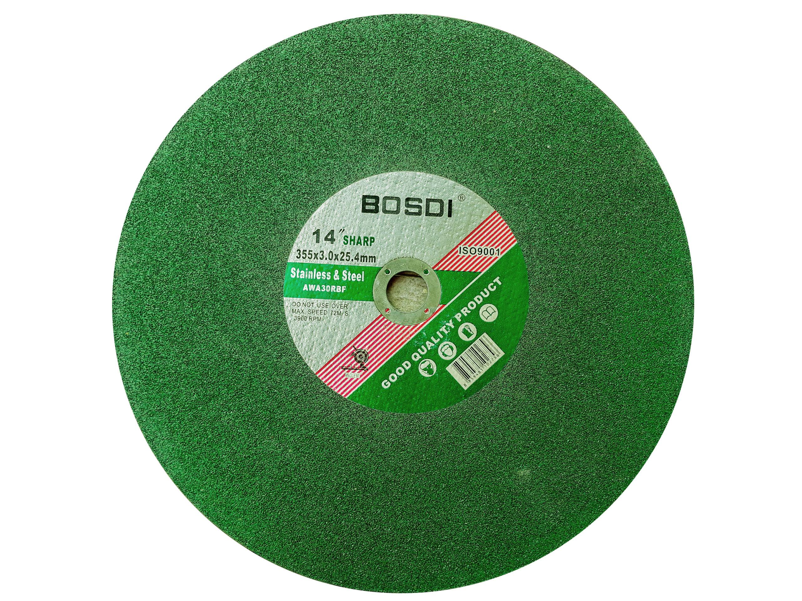 Đá cắt xanh BOSDI 355x0.3x25.4