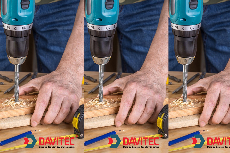 DV3312 - Khoan pin Davitec
