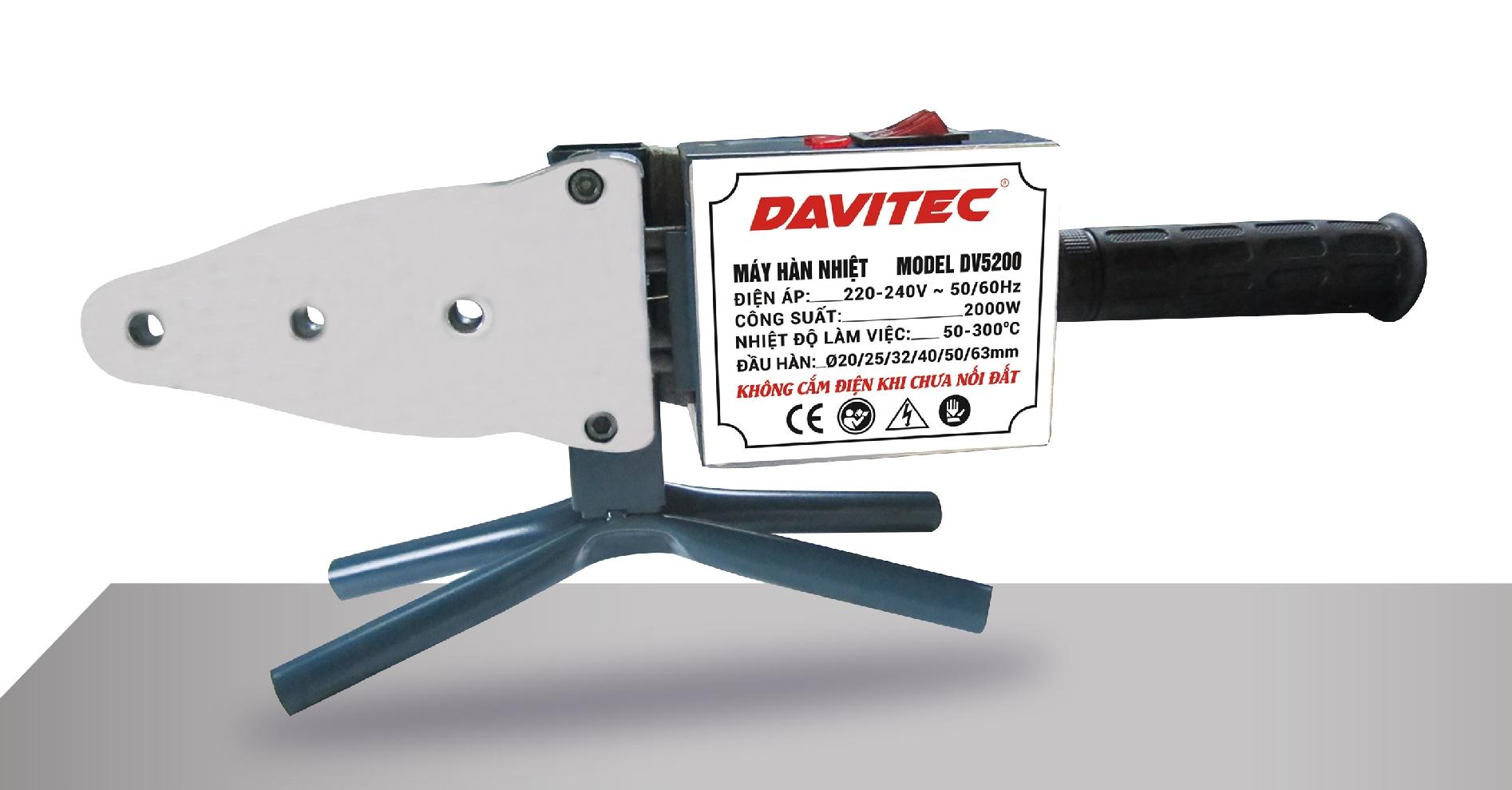 DV5200 - Hàn ống nước Davitec
