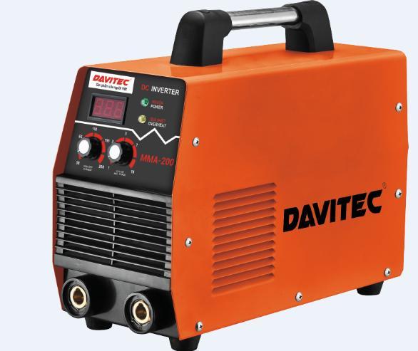MMA-200 - Hàn điện tử Davitec